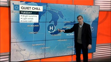 Milder weather set to take hold in the East