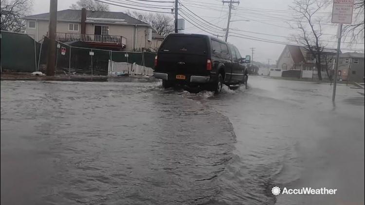 Northeast coastal towns prepare for flooding