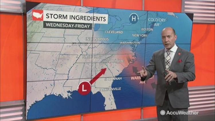 Will a strengthening storm delay Thursday morning's rocket launch from Virginia?