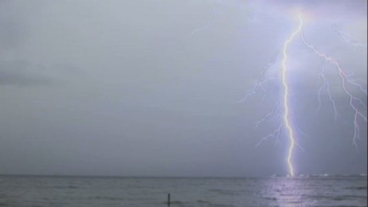 Lightning Strikes Water All The Time. Why Doesn't That Kill The Nearby Fish?