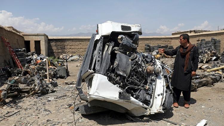 US trashes unwanted gear in Afghanistan, sells as scrap
