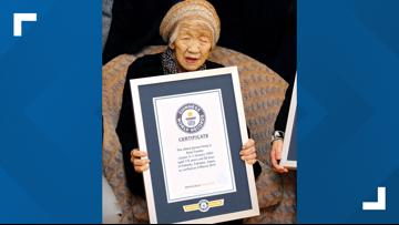 Japanese woman honored by Guinness as oldest person at 116