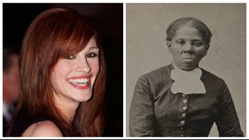 Julia Roberts was suggested to play Harriet Tubman, screenwriter claims