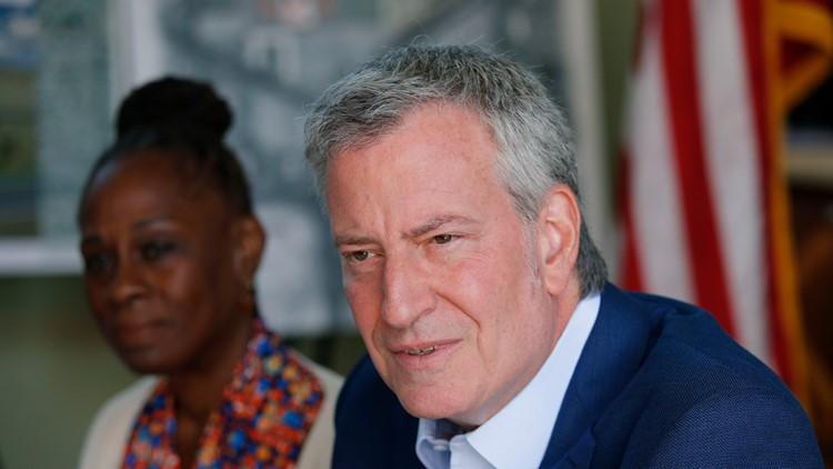 New York City mayor Bill de Blasio ends presidential campaign