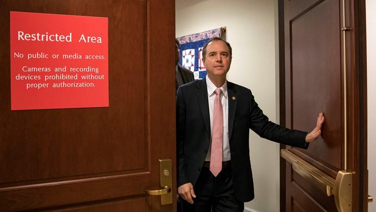 Trump Russia Probe Congress Adam Schiff