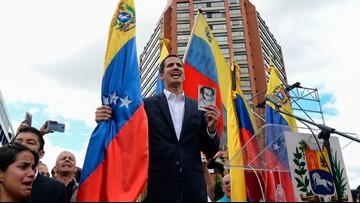 US diplomats forced to leave Venezuela after Trump backs opposition leader