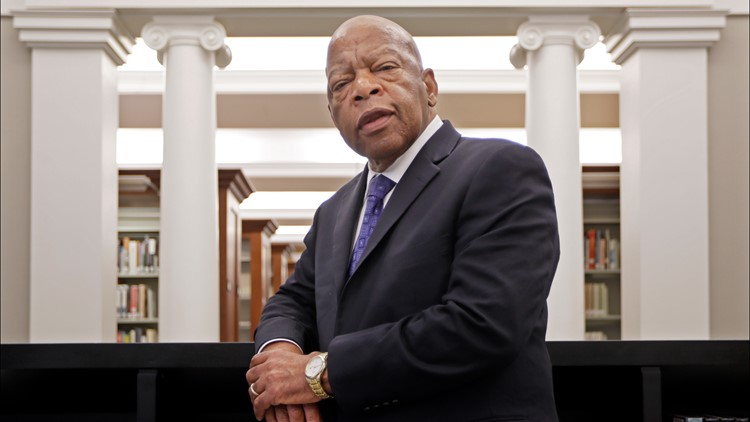 Final thoughts from Rep. John Lewis to be published in July