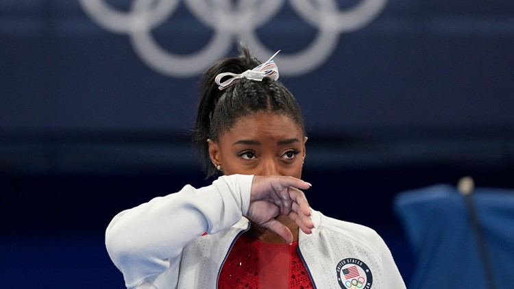 What Simone Biles posted online before gymnastics team finals