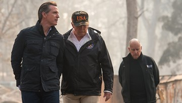 Trump says Camp Fire is 'total devastation,' but hasn't made him rethink climate change