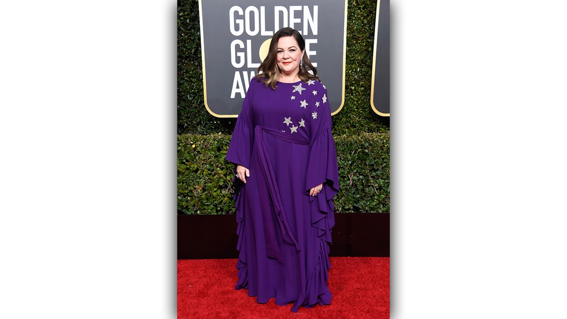 Stars returned to looks in color on the Golden Globes ...