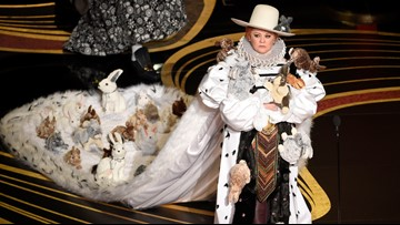 Melissa McCarthy and a rabbit puppet just won the award for best Oscars presenter