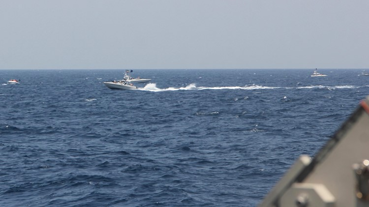 Iran rejects US claim that speedboats sparked encounter