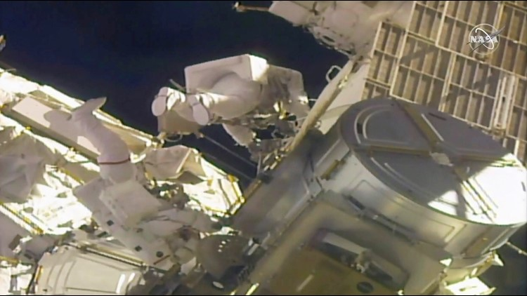 Spacewalkers complete 4 years of power upgrades for International Space Station