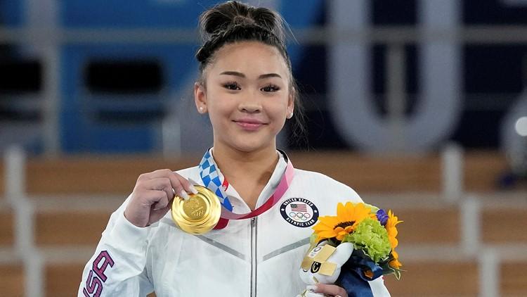 Suni Lee wins gold in women's all-around gymnastics final