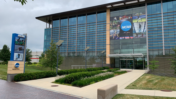 NCAA adopts temporary rules allowing athletes to earn money off name, image and likeness