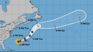Bermuda gets ready for pass by Category 3 Hurricane Humberto