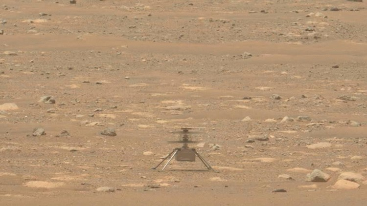 Mars helicopter gets extra month of flying to tackle tough new terrain