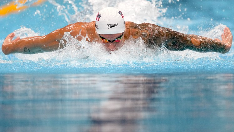World, Olympic records set in the pool Friday in Tokyo