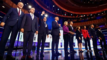 Democrats talk poverty, climate, role of government in clash of 2020's opening debate