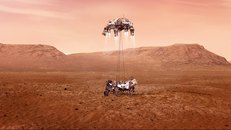 NASA Perseverance Rover: Animation shows '7 minutes of terror' for Mars landing