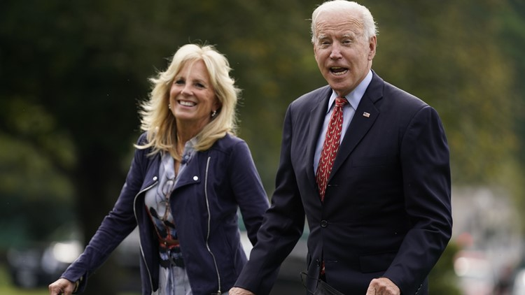 Jill Biden out to flex political muscle in governors' races