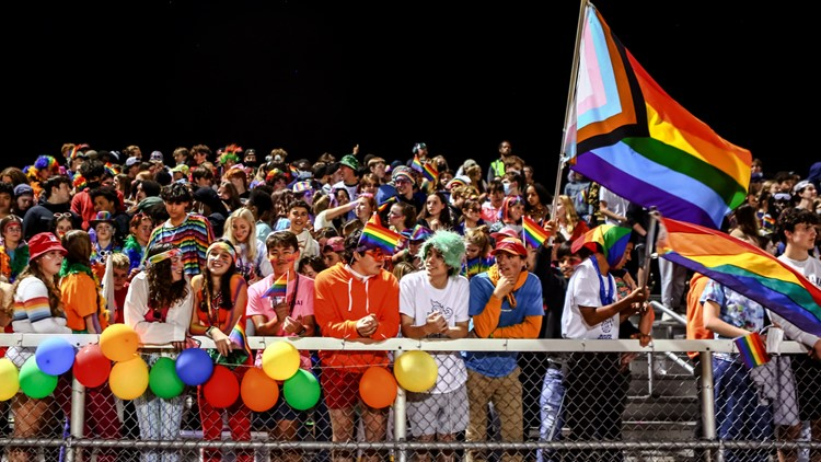 Vermont high school's halftime show turns into a 'drag ball' pageant