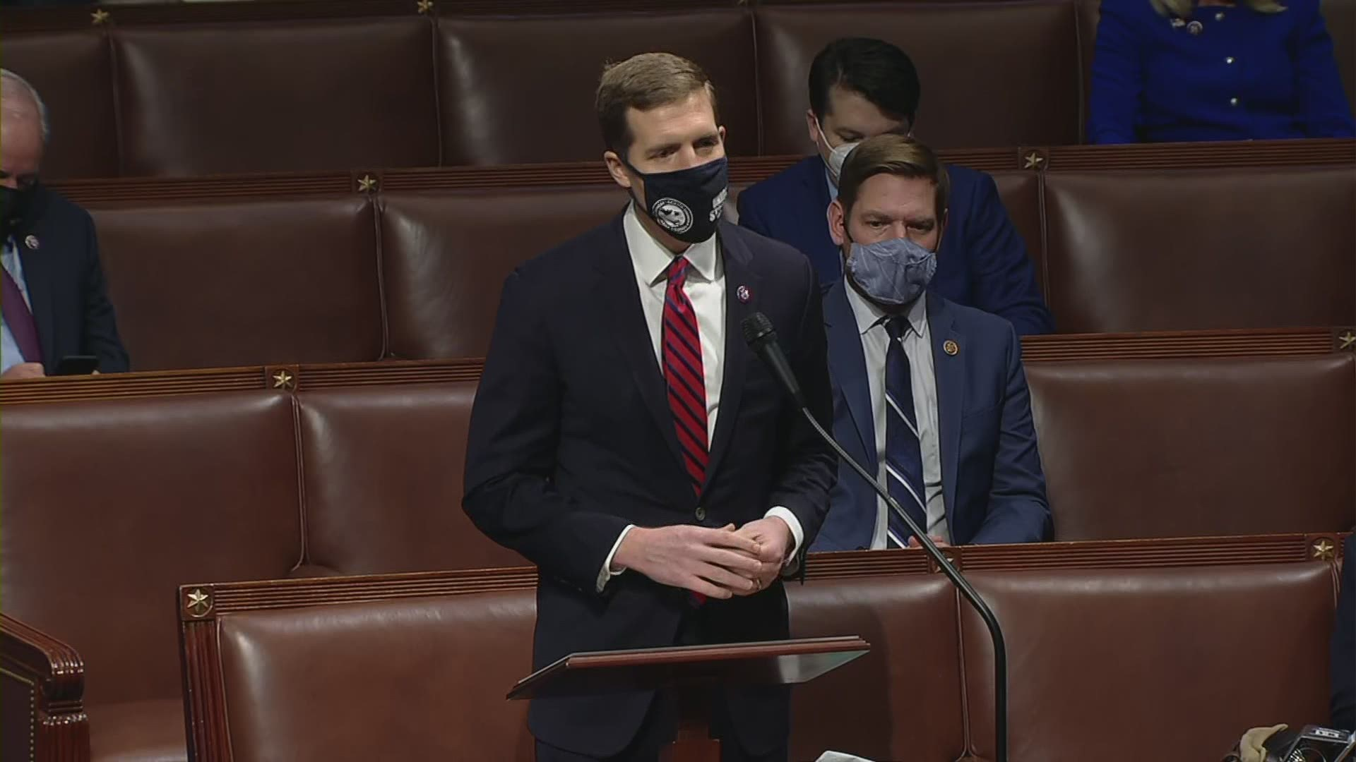 Heated moment in House as Conor Lamb ...