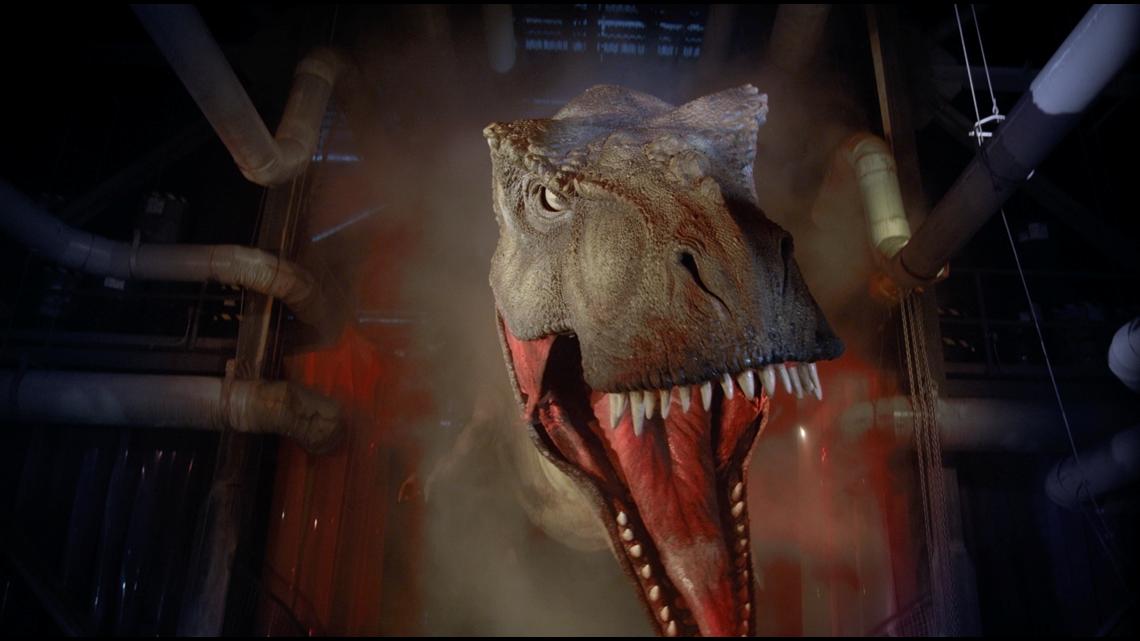 'Jurassic Park' ride g...