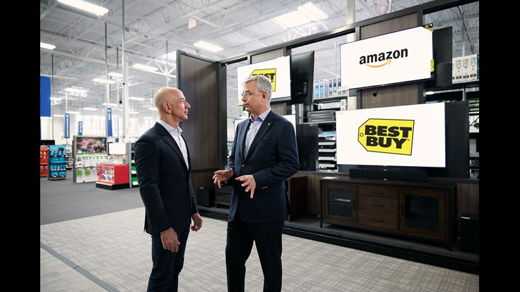 Amazon taps Best Buy to begin selling its smart TVs with Alexa