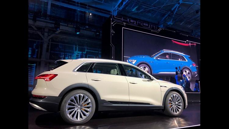 Electric Car Wars Audis New Etron Set To Challenge Tesla Model X - Audi electric cars