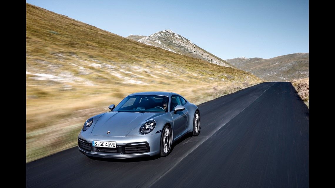 La Auto Show Next Porsche 911 Sports Car Will Be Bigger