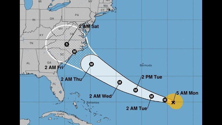 Hurricane Florence: Full list of fee waivers at U.S. airlines ...