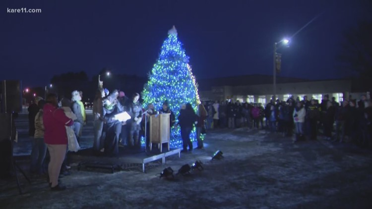 'Tree of Hope' lights up for Jayme Closs