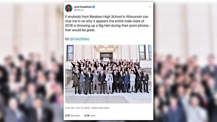 Photographer: Wisconsin boys' Nazi salute photo was innocent