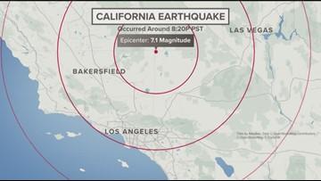 6.9 earthquake hits California