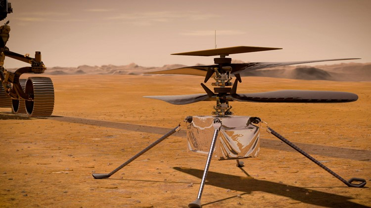 NASA prepares Ingenuity helicopter for first-ever flight on another planet amid delays