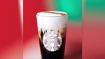 Starbucks unveils Irish Cream Cold Brew for the holiday season
