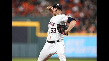 Astros, Giles take one on chin as Sanchez lifts Yanks