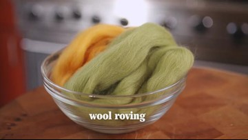How to Make Felted Acorn Napkin Rings