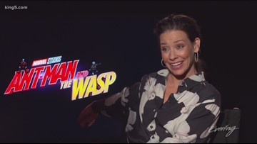 Ant-Man and the Wasp cast are life-sized action figures - KING 5 Evening
