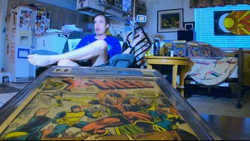 Man auctioning the world's top rated X-Men comic book collection to pay for cancer treatments