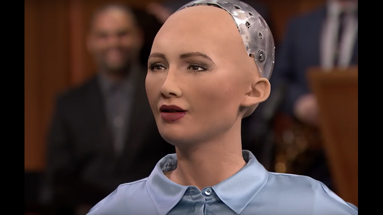 Sophia The World S First Robot Citizen Wants A Baby 13newsnow Com