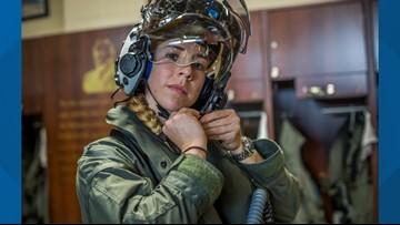 U.S. Marine captain becomes first female F-35B pilot