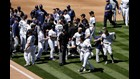 Bench-clearing brawl at Rockies game