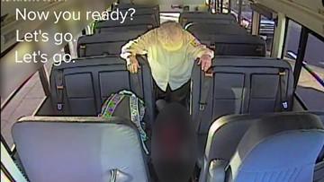 """I don't like it. Please stop!"": Disturbing video shows school bus driver dragging autistic child"