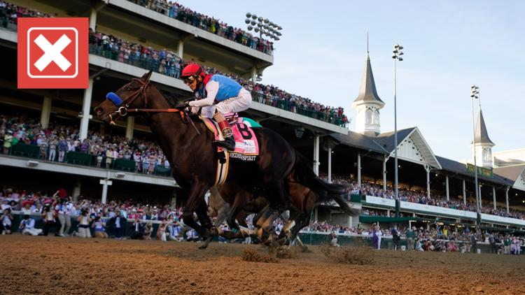 No, bets on Medina Spirit will not change if Kentucky Derby winner is disqualified