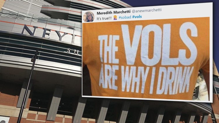 UT Tweet The Vols Are Why I Drink