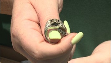 Good Samaritan returns lost ring of woman's late father