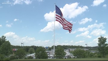 NC company allowed to continue flying massive American Flag after city council vote
