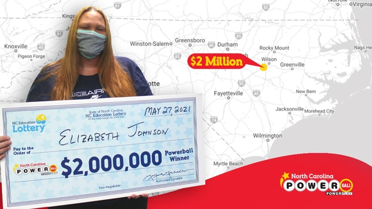 'I didn't even play tonight'   NC woman shocked to discover she won $2 million lottery jackpot